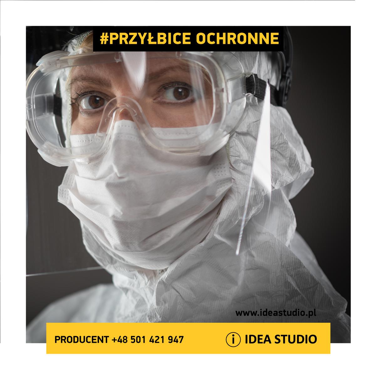Przyłbica ochronna | Producent Ideastudio.pl