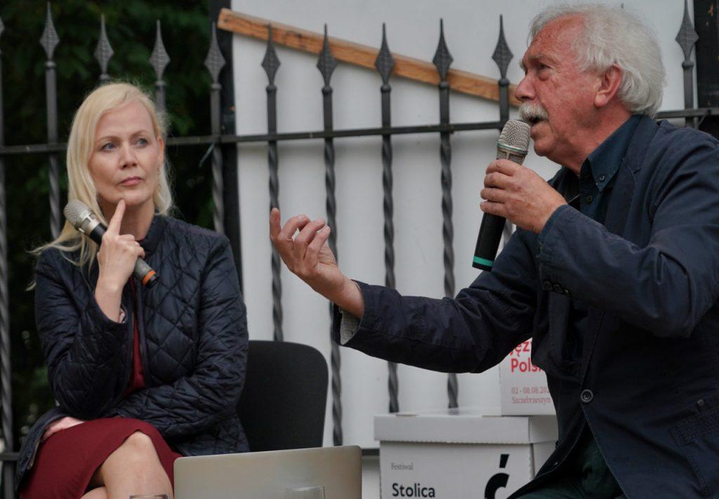 Pani Katarzyna Stoparczyk i  Leszek Mądzik