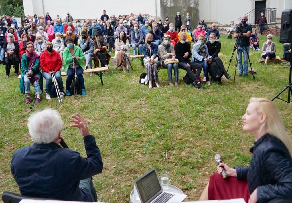 Publiczność podczas spotkania